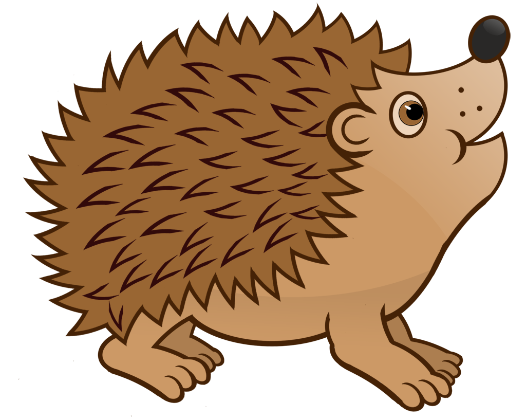 Hedgehog clipart baby hedgehog. Pretty watercolor hedgehogs forest