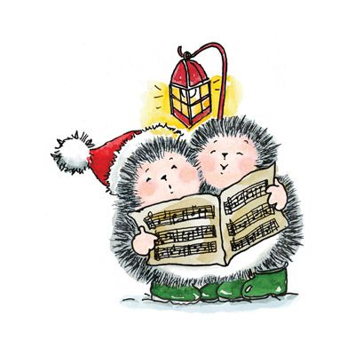 Hedgehog clipart christmas. Best hedgehogs images on