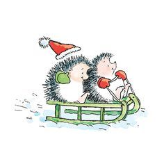 Hedgehog clipart christmas. Illustrations google search hedgehogs