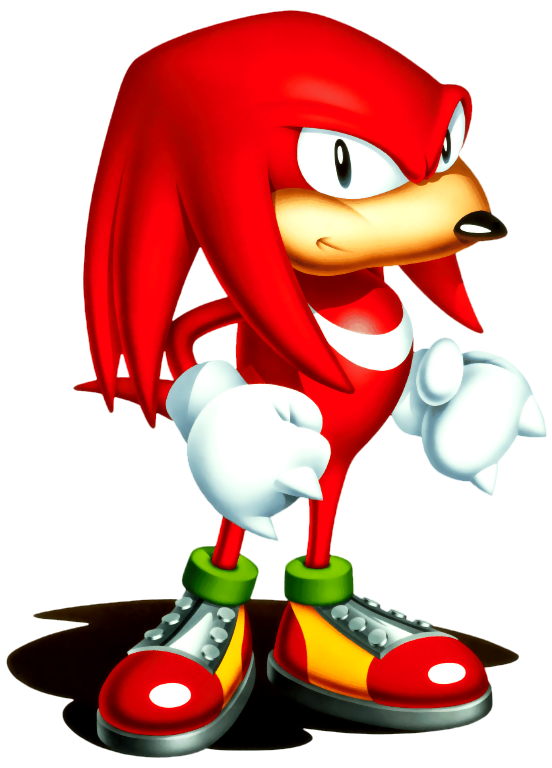 Sonic 3 png. The hedgehog knuckles echidna