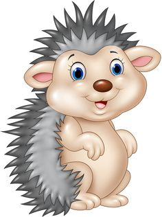 Hedgehog clipart hedgehog outline. Free funny hedgehogs cartoon