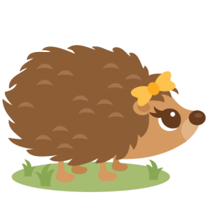 hedgehog clipart hedgehog outline