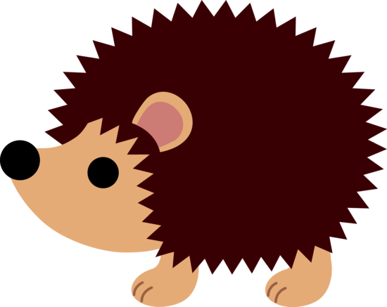 Hedgehog svg silhouette. Silhouettes free cute clip