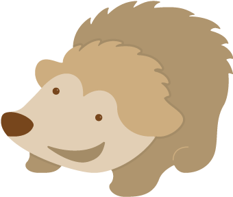Hedgehog svg. Free file cute svgcuts