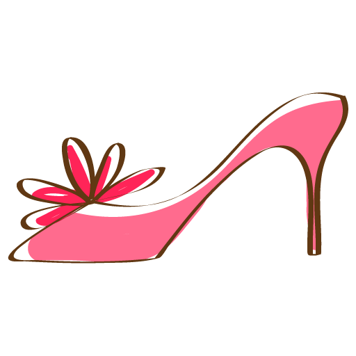 Heel clip pink. High icons rs activity