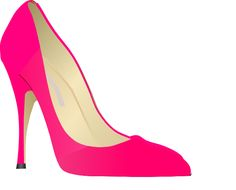 High heel clipart des. Purses and heels flip