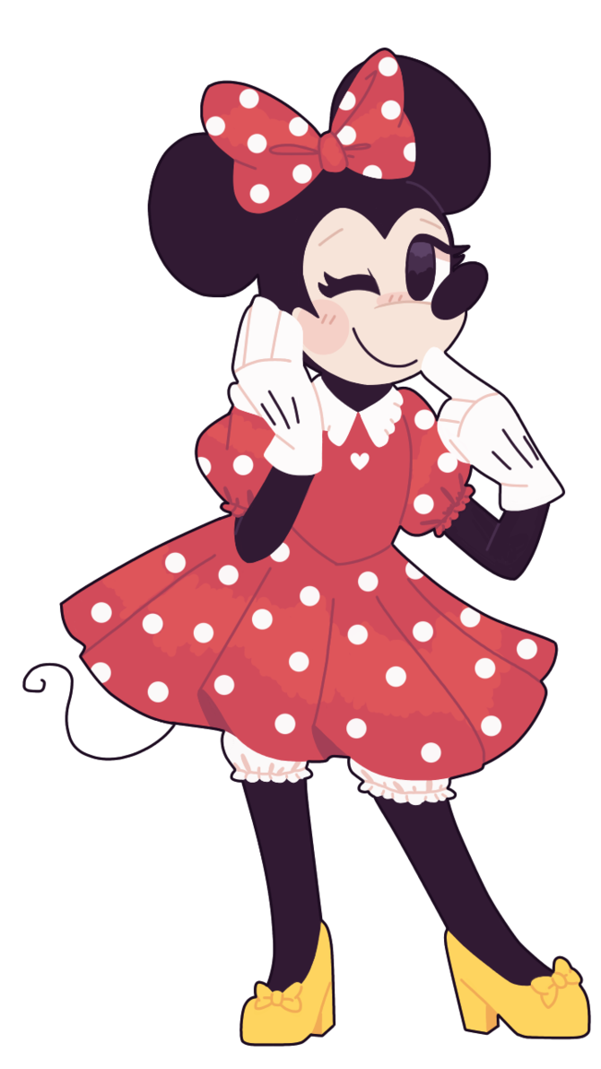 Heels clipart daddy long leg. Minnie mouse clip arts