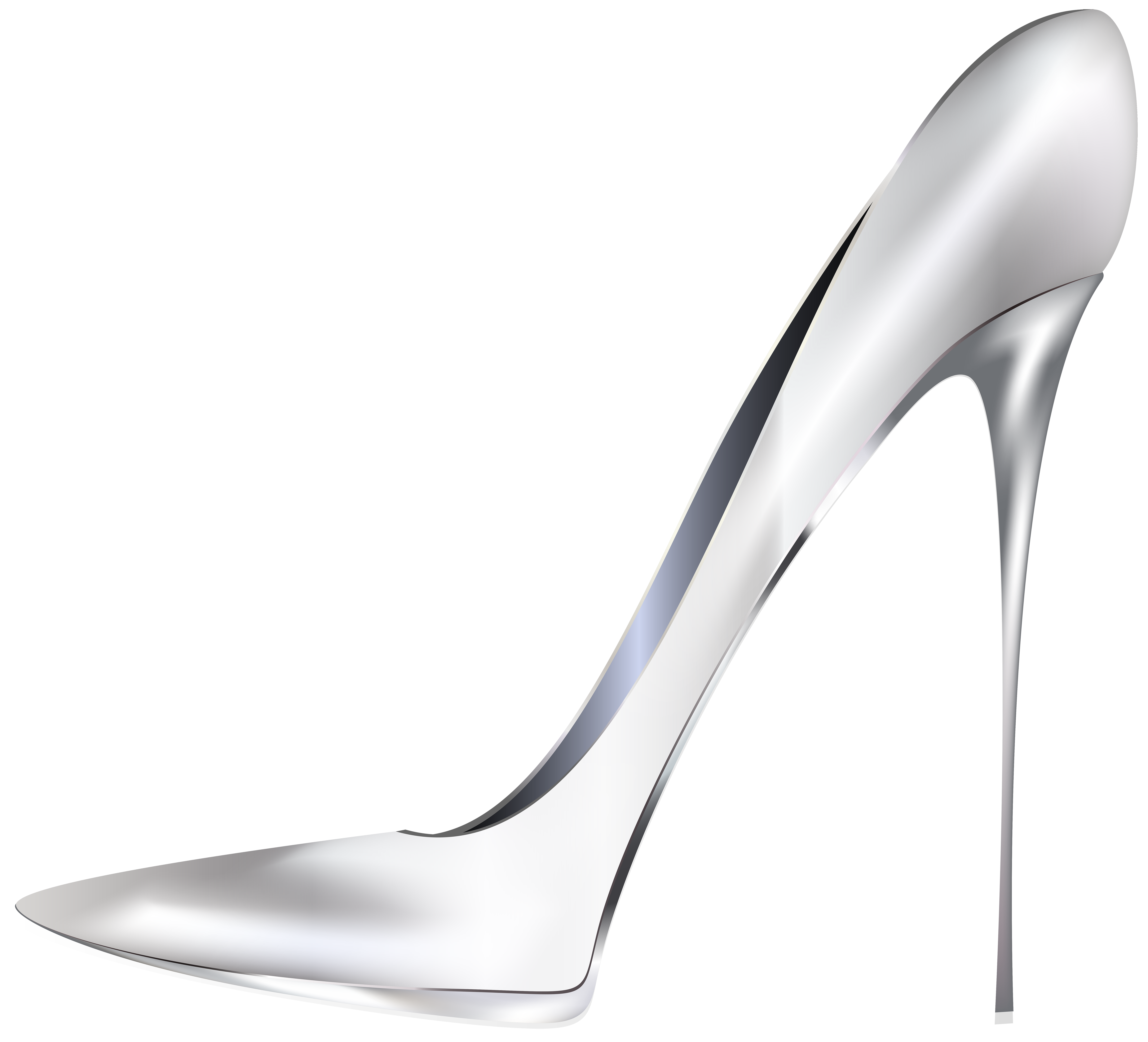 Heels clipart full. White high png clip