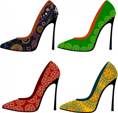 high clipart high heel shoe