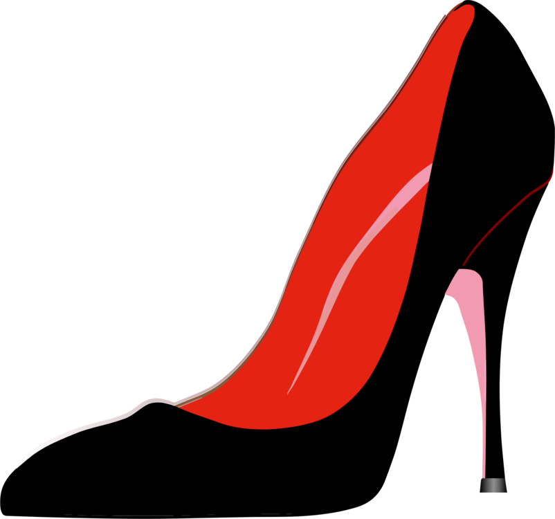 Heels clipart stilleto. High heeled shoe clothing