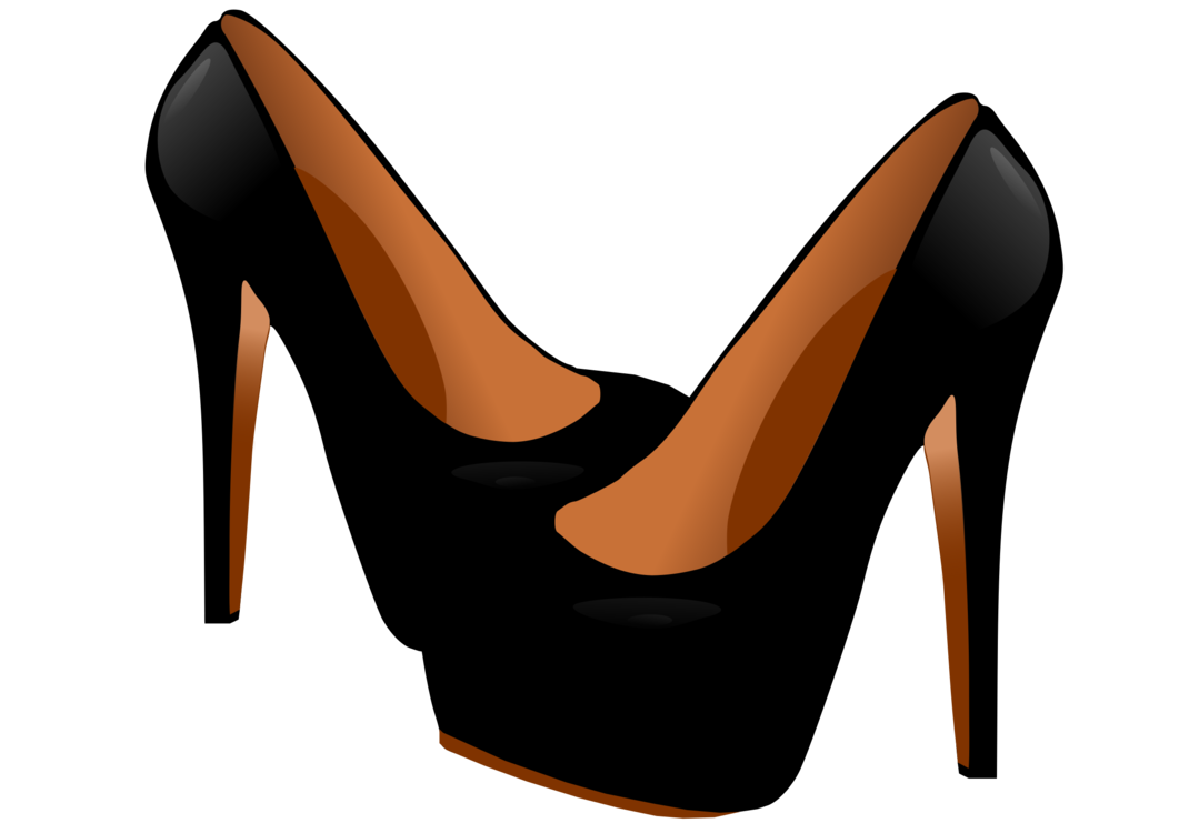 High clipart high heel shoe. Heeled clothing shop download
