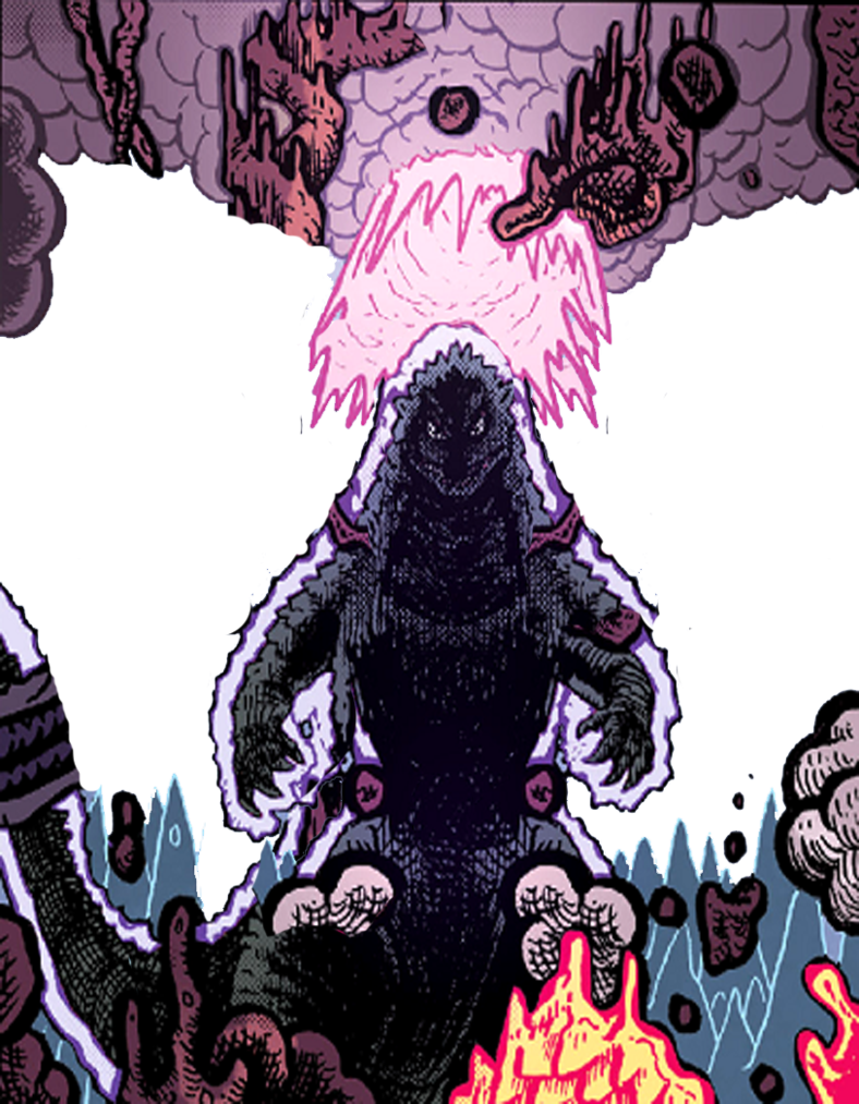 Heisei godzilla png. Image divine form by