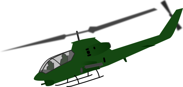 Soldiers helicopter