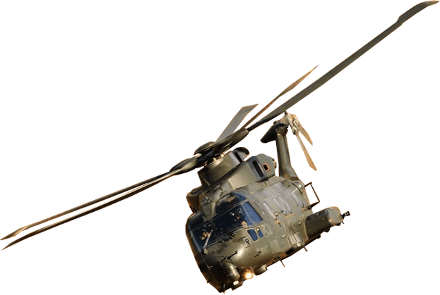 Helicopter transparent png. Military image background