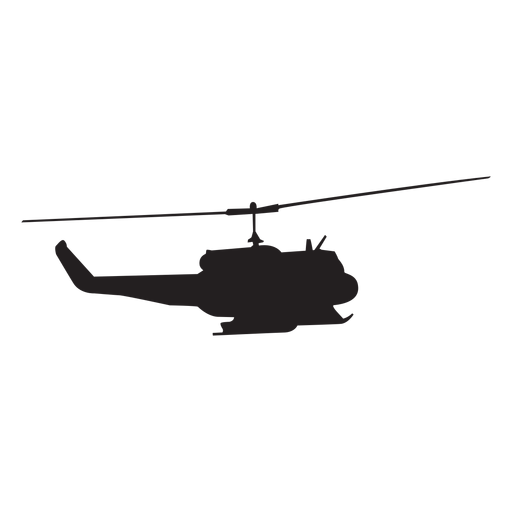 Aircraft vector military helicopter. Silhouette transparent png svg