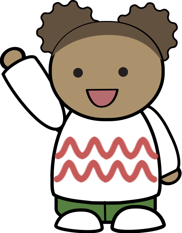 Hello clipart. Wave free