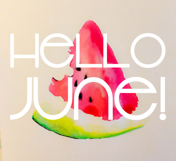 Hello clipart july. June