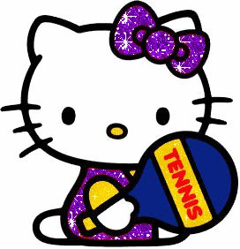 Hello clipart sparkly. Best cute kitty