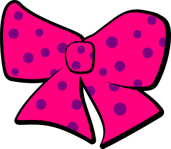 Hello kitty bow png. With polka dots clip