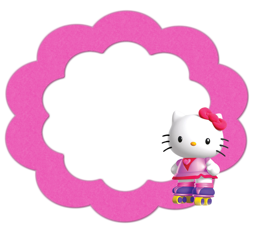 Hello kitty frame png. Image