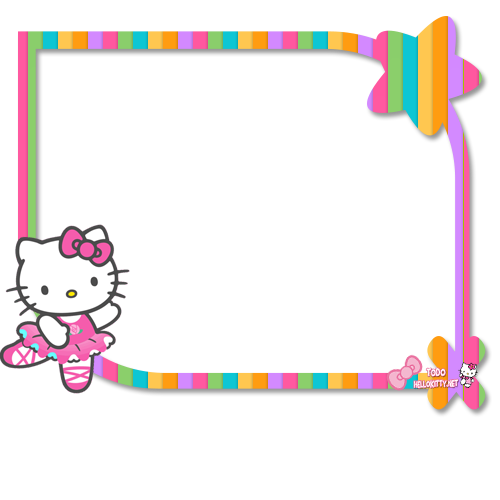 Hello kitty frame png. Marco de stuff to