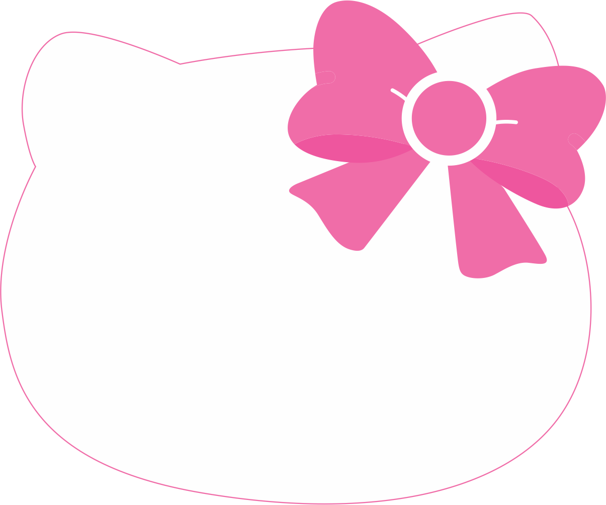 Hello kitty head png. Clipart image transparentpng