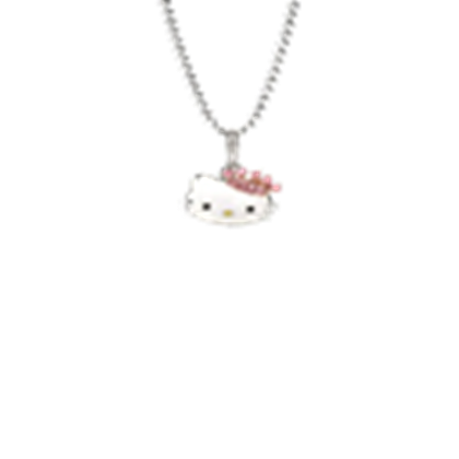 Hello kitty necklace png. Neckles roblox