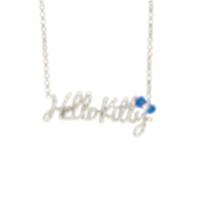 Hello kitty necklace png. Word roblox