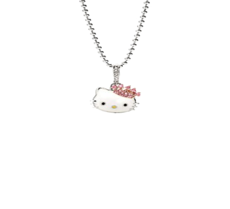 Hello kitty necklace png. By iimadrbx on deviantart