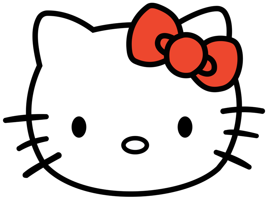 Hello kitty png download. Head clipart