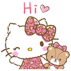 Hello kitty sticker png. Adorable animations line stickers