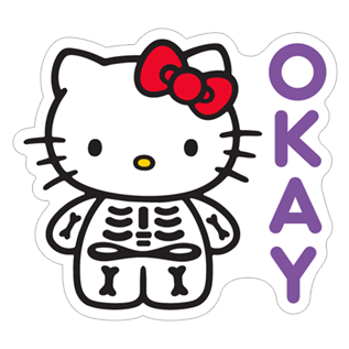 Hello kitty sticker png. Free download halloween viber