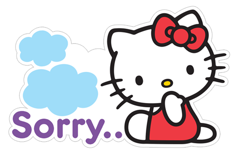 Hello kitty sticker png. Free download summer viber