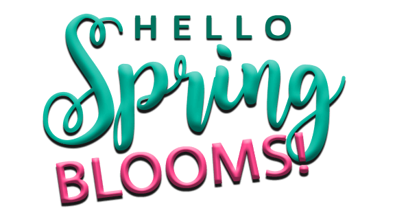 Hello spring png. Weekend specials email header