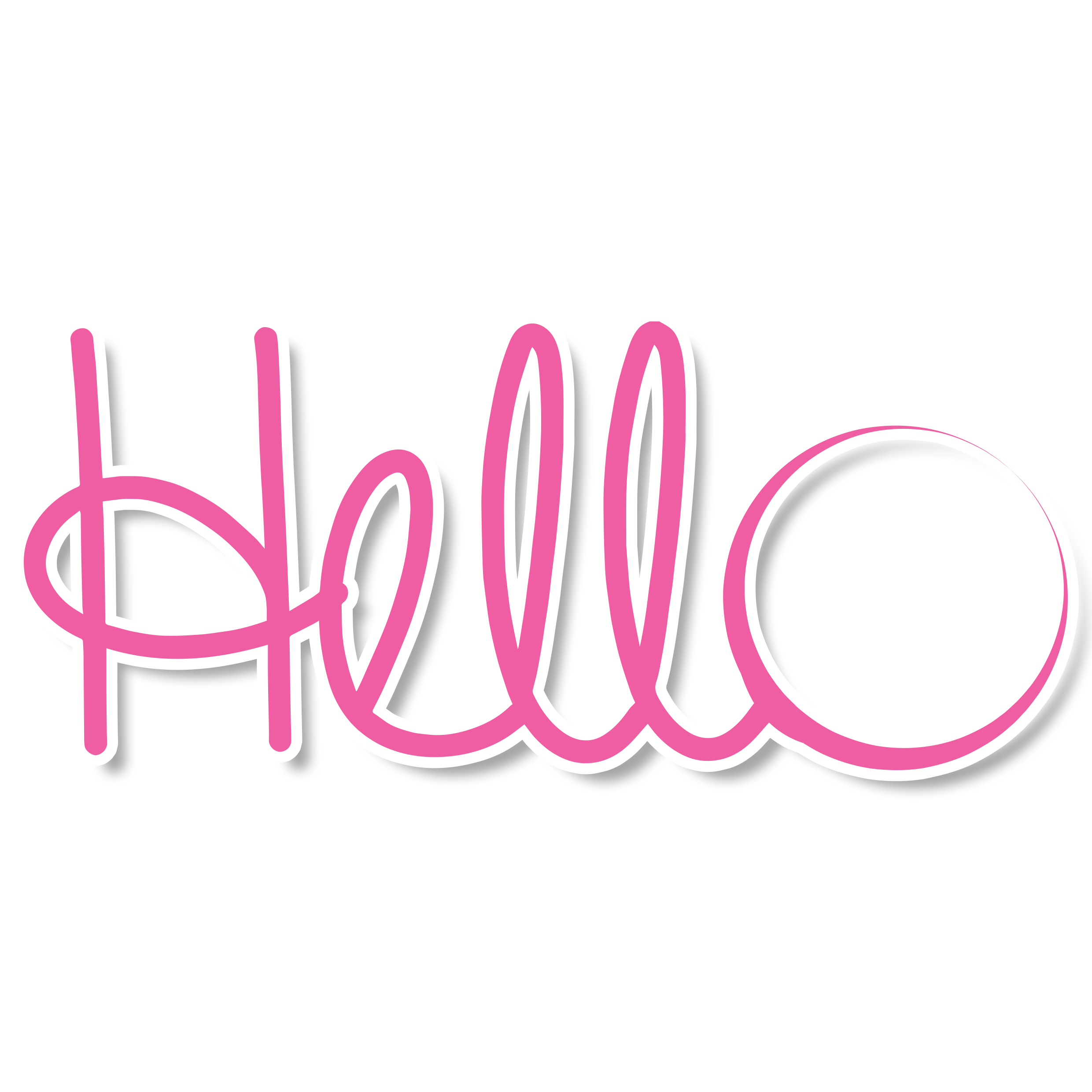 Hello transparent logo. Index of images new