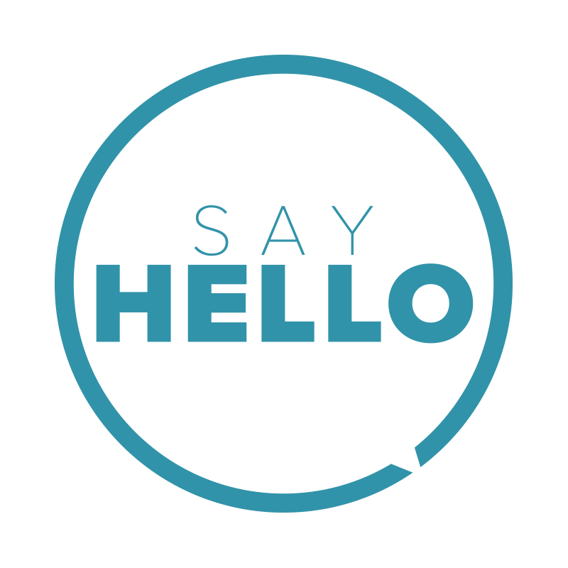 Hello transparent simple. A sayhello agency