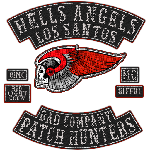 Hells angels patch png. Another mc request gfx