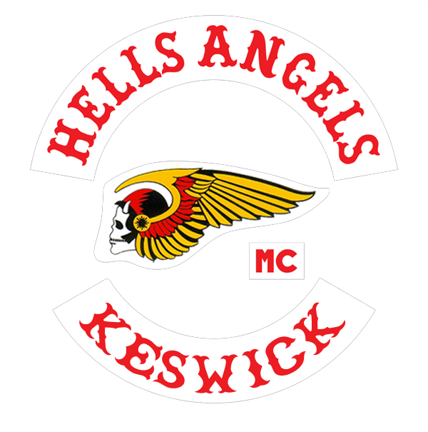 Hells angels patch png. History mc keswick the