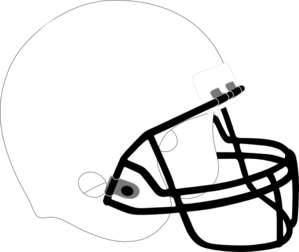 black football helmet png