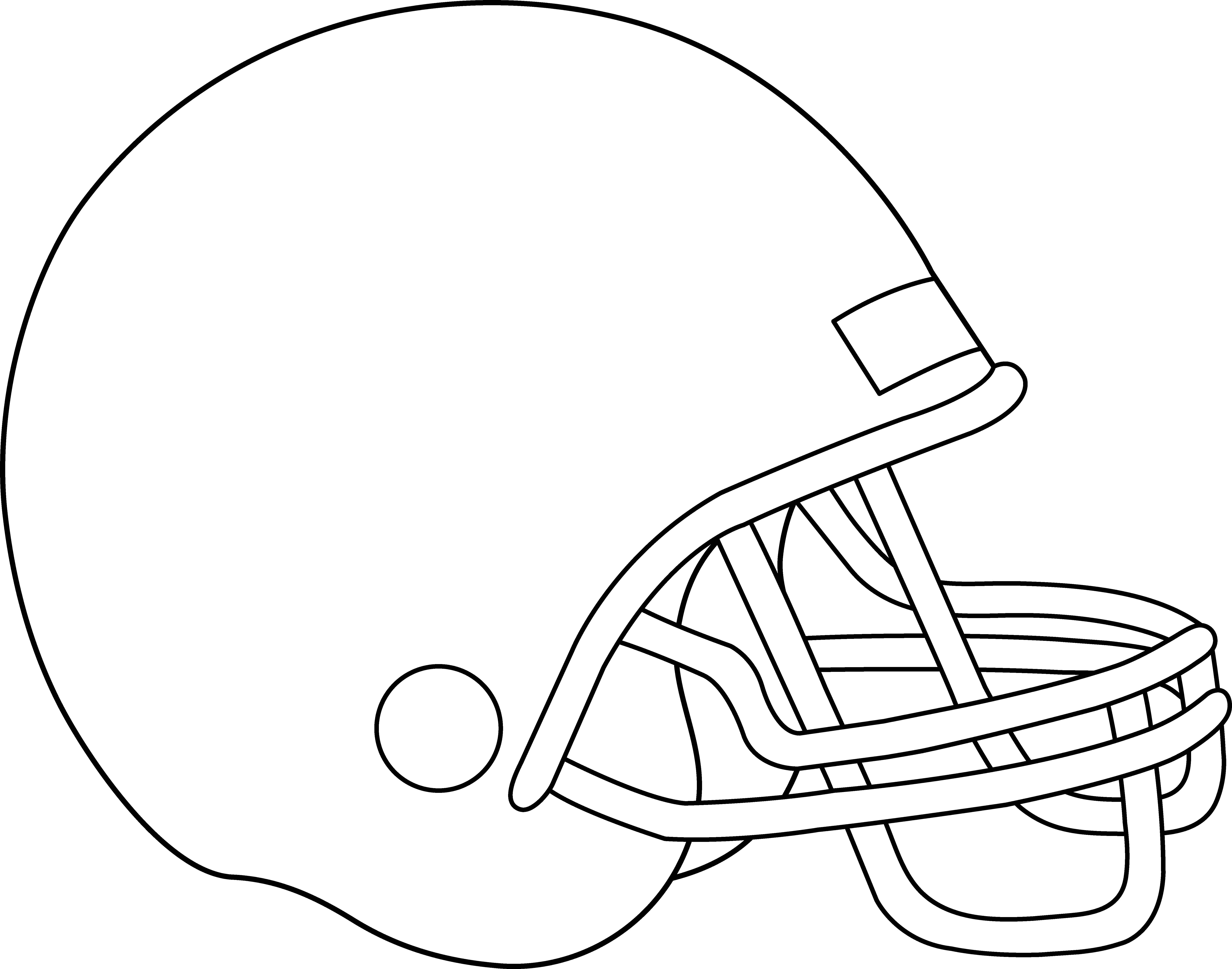 Dallas drawing helmet. Clip art football clipart