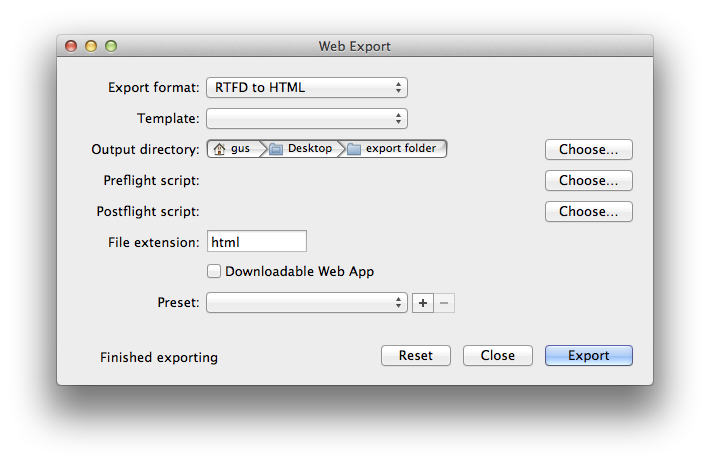 Help_your_files png html. Web export previewing your