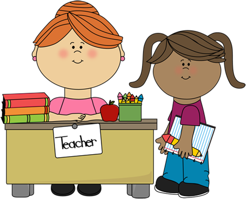 Teacher . Helper clipart banner transparent stock