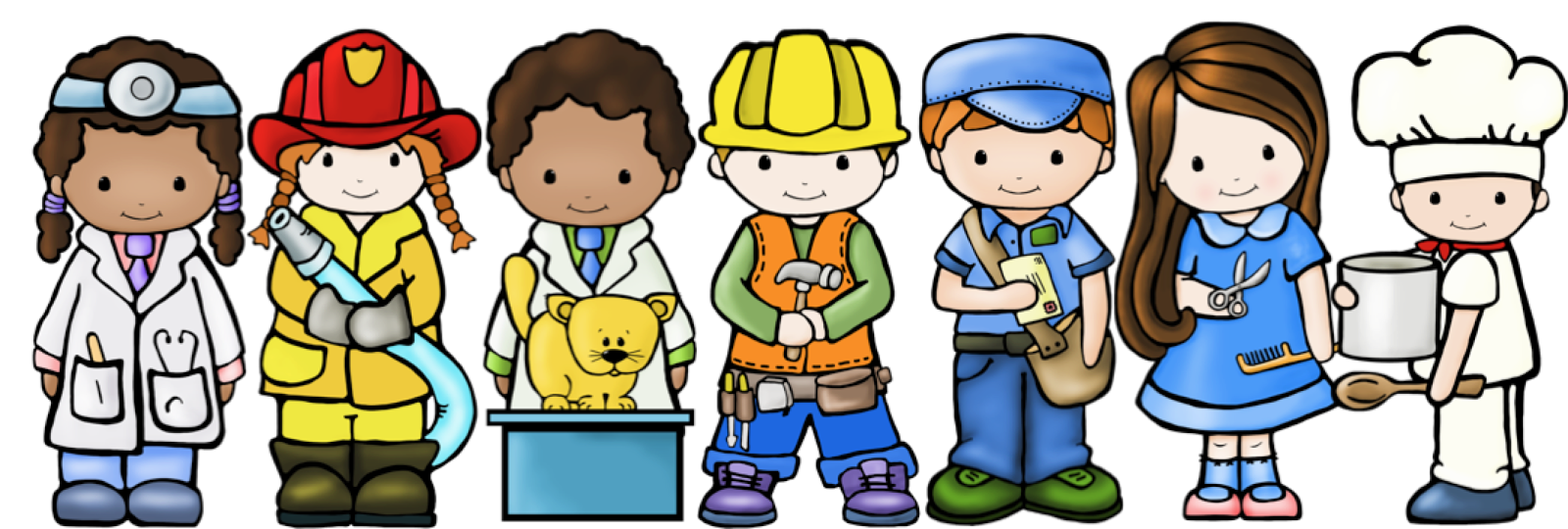 Helpers clipart. Community