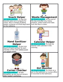 Helper clipart hand sanitizer. Simple classroom jobs with