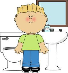 Bathroom . Helper clipart preschool image