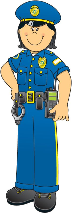 Cop clipart community helper. Best school learning