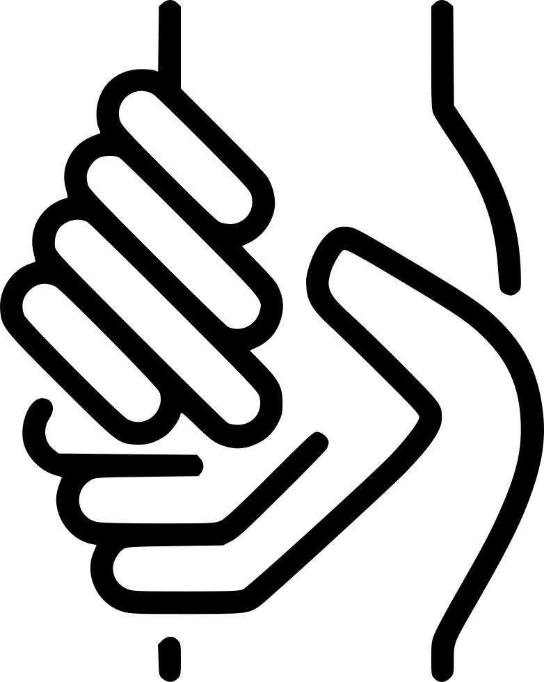 Helping hand png. Svg icon free download