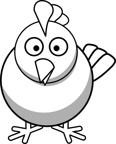 Hen vector black and white. Chicken clip library free