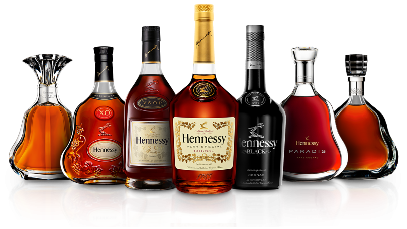 Hennessy on the floor png. Stamps its authority in