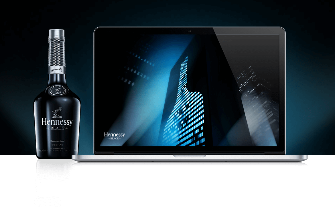 Hennessy on the floor png. Olivier lafaysse art director